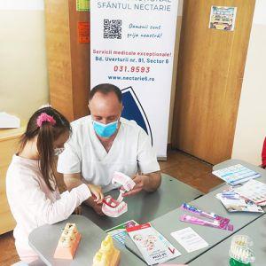 """""""Copii sănătoși, veseli și frumoși"""" – întâlniri cu specialiștii de la Centrul de Sănătate """"Sfântul Nectarie"""""""