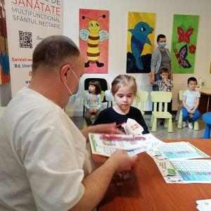"""""""Copii sănătoși, veseli și frumoși"""" – întâlnirea cu stomatologul Centrului de Sănătate """"Sfântul Nectarie"""""""