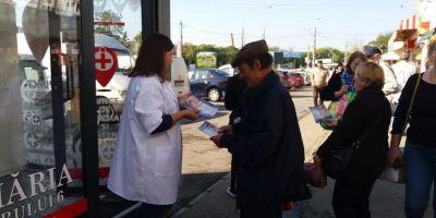Campanie de testare gratuită a glicemiei în centrele de informare și asistență de pe raza Sectorului 6