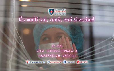 Azi, 12 Mai, îi celebrăm pe ei, asistenții medicali!