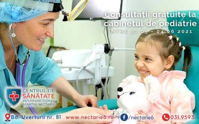 Consultații pediatrice gratuite la un telefon distanță -  031.9593