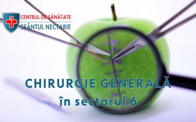 Chirurgie generală în sectorul 6