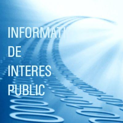 Informaţii de interes public