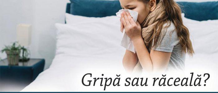 Gripă sau răceală?