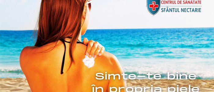 Simte-te bine în propria piele! Campanie de conștientizare a efectelor razelor soarelui asupra corpului nostru