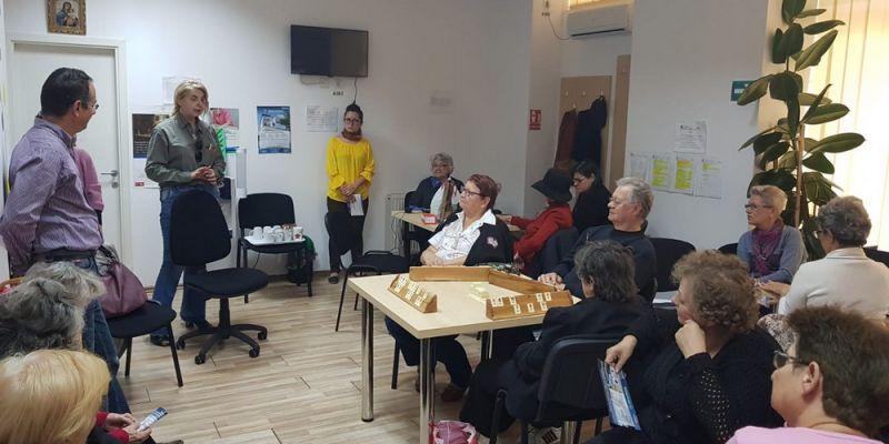 Campanie de informare: Viață lungă și sănătoasă pentru persoanele vârstnice din Sectorul 6